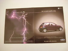 advertising Pubblicità 1998 FORD KA