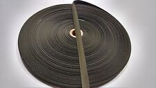 """OLIVE DRAB 9/16"""" INCH MILITARY SPEC WEBBING 100'FT ROLL FABRIC OUTDOOR CAMO #222"""