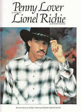 Penny Lover - Lionel Richie - 1984 Sheet Music