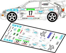 DECALS 1/43 FORD ESCORT COSWORTH  #17 - MARCHBANK - RALLY BOHEMIA 2003 - D43081
