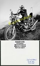 Michel Jacot motocicleta bmw r 69 s Chopper modificación munich pelo keferloh 1971