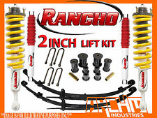 FORD PX RANGER 11/2011-ON | RANCHO 2 INCH SUSPENSION LIFT KIT LIGHT LOAD