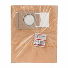 Pack of 5 - Bosch 2605411062 000 Paper Filter Bag GAS 12-50 Vacuum Hoover #7A170