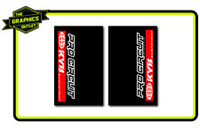 PRO-CIRCUIT - KYB UPPER FORK MOTOCROSS MX GRAPHICS DECALS STICKERS