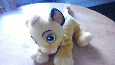 Disneys THE LION KING Soft Simba CUB circa 17 pollici di lunghezza