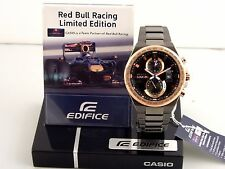 CASIO EDIFICE CHRONO INFINITI RED BULL RACING LIMITED EDITION MEN'S WATCH