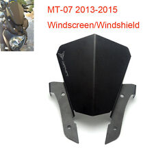MT07 Aluminum Wind Screen Windscreen For Yamaha MT-07 FZ-07 2013 2014 2015 NEW