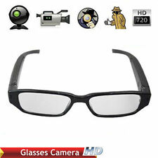 HD 720P Spy Camera Glasses Hidden Eyewear DVR Video Recorder Cam Camcorder  RF