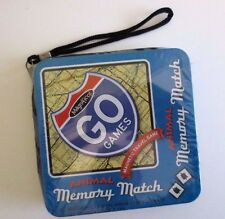 Awesome NEW Magnifico GO Games ANIMAL MEMORY MATCH Magnetic Travel Game