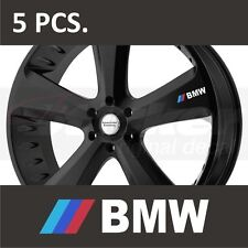5 pcs BMW 3-Series 5-Series M3 M5 M6 X5 X6 Door Handle Wheel sticker decal