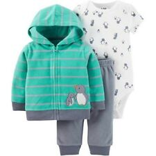 Child of Mine by Carter's Baby Boy Cardigan Set, 3piece, Penguins, 12M