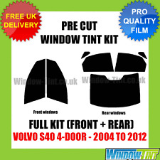 VOLVO S40 4-DOOR 2004-2012 FULL PRE CUT WINDOW TINT