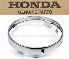 New Geniune Honda Chrome Headlight Trim Ring Many VT750 VT1100 (See Notes) #S111