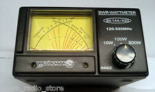 Workman SX-144/430 Amateur Radio Cross Needle Dual Band SWR/RF Meter for 2m/70cm