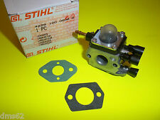 NEW STIHL CARBURETOR & 2 GASKETS  FITS BG85 BG65 BG55 BG45  42291200606  OEM
