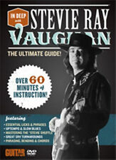 Stevie Ray Vaughan In Deep With The Ultimate Guide Guitar DVD NEW!