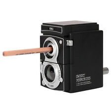 Retro Camera Style Pencil Sharpener Adjustable Mechanical Manual Stationery