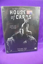 House of Cards Complete Second 2 Season DVD Set Kevin Spacey NEW and SEALED