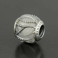 Authentic Genuine Pandora Silver Clear Intertwining Radiance Charm - 791968CZ