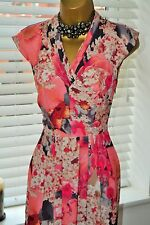 Romantic ⭐️ Ted Baker ⭐️ Floral Dress Size 1 UK 8