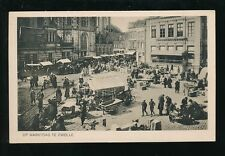 Netherlands Holland ZWOLLE Market day c1900/20s? PPC