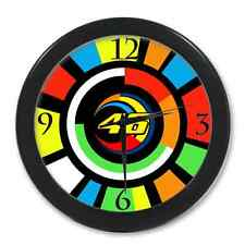 New The VR46 Valentino Rossi With 46 The Doctor With Sun Wall Clocks!