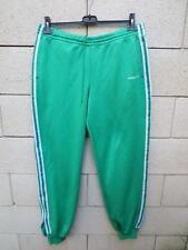 VINTAGE Pantalon ADIDAS vert sport loisir détente 180 L D6