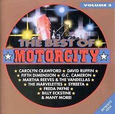 Best Of Motorcity - vol.3 (Detroit) Motown. David Ruffin, Billy Eckstein, New CD