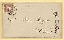 10.09.1860 - Lettera da Treviso per Verona