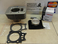 NEW CYLINDER & WISECO PISTON KIT! 00-06 honda rancher trx350 trx 350 engine jug