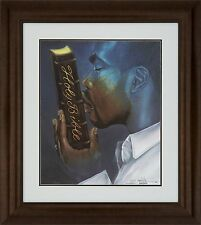 "African American Black Art Print ""RESTORATION (MALE)"" by Edwin Lester"