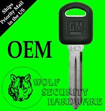 Buick Chevy Olds Pontiac Transponder Electronic Chip Key Blank PK3 GM Logo690552