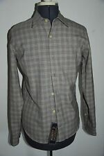 MENS SIZE SMALL PENDLETON LONG SLEEVE WOOL BUTTON UP SHIRT  NICE! NWT! $148