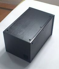 Black DYT Full Aluminum Enclosure amp case /Preamp box/PSU chassis