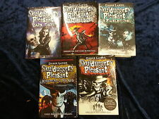 5 SKULDUGGERY PLEASANT BOOKS by DEREK LANDY ** UK FREEPOST ** HARPER COLLINS H/B