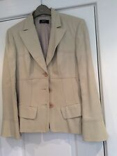 Onorevoli Philippe Adec beige a righe Gon na Suit 12/10