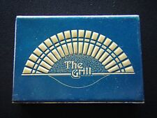 THE GRILL GOLDEN SANDS HOTEL PENANG BATU FERINGGI BEACH 811111 MATCHBOX