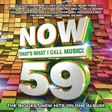 Now That's What I Call Music, Vol. 59 (CD 2016) Trap Beckham Brand New & Sealed