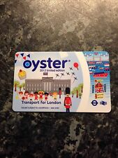 Limited edition 2012 London Olympics Oyster travel card