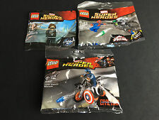 LEGO 5002943 30447 30305  WINTER SOLDIER Captain America Spider-Man Neu New