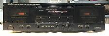 Denon DRW-850 - HX PRO Precision Audio Dual Stereo Cassette Tape Deck