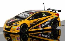 C3861 Scalextric Slot Rally Car BTCC Honda Civic Type R 2016 Matt Neal New UK