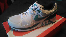 Men's Nike Air Stab Size 10 White Green Blue DS 312451-100 **OPEN TO OFFERS**
