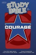 NKJV Study Bible for Kids, Courage LeatherTouch  Imitation Leather