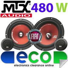 """Fiat Scudo 1995-2006 MTX  6.5"""" 480 Watts Component Kit Front Door Car Speakers"""