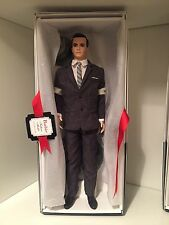 2010 Mad Men Silkstone Gold Label Barbie Doll Collectible Don Draper NRFB Boxed