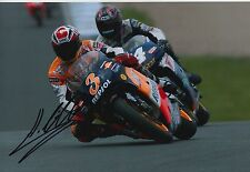 Alex Criville Hand Signed Photo 12x8 Repsol Honda MotoGP 8.