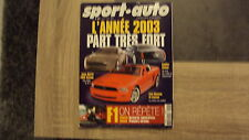 Magazine Sport Auto n°493 - Mustang / Cadillac … - 02/2003