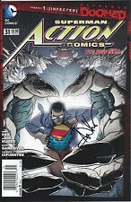 Action Comics (The New 52) #31 (July 2014) NM- DC signed by Aaron Kuder ID#1885