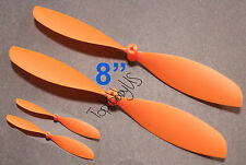 "4pcs 4x8"" ø1.4mm Rubber Band Powered Plane Air Plane Propellers, US 001-010044"